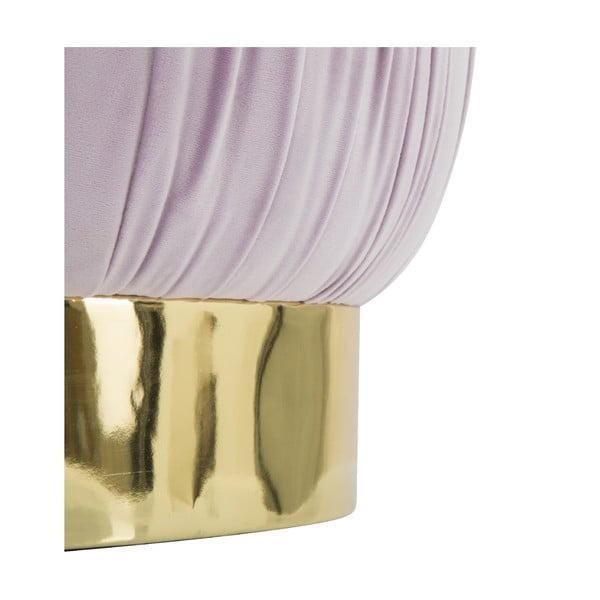 Růžová taburetka s úložným prostorem Mauro Ferretti Paris, ø41cm