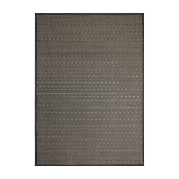 Čierny vonkajší koberec Universal Bios, 60 x 110 cm