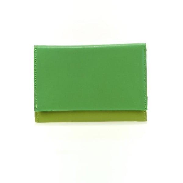 Peněženka a pouzdro na kreditní karty Green
