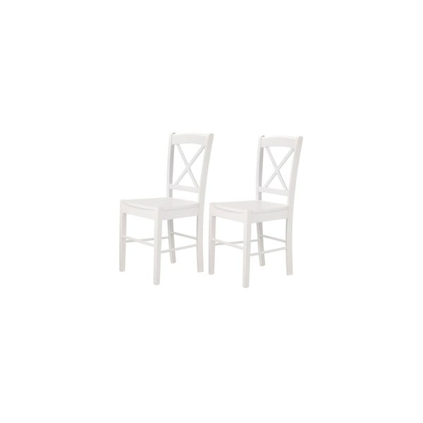 Sada 2 bílých jídelních židlí 13Casa  Kaos