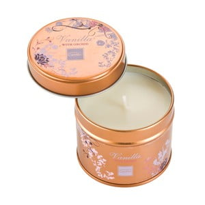 Aroma svíčka v plechovce Vanilla with Orchid, doba hoření 32 hodin