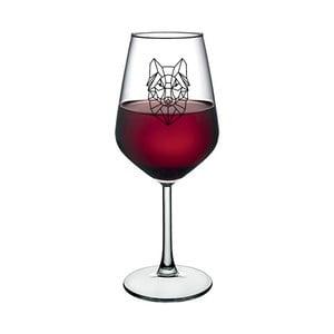 Sklenice na víno Vivas Lion Design, 345 ml
