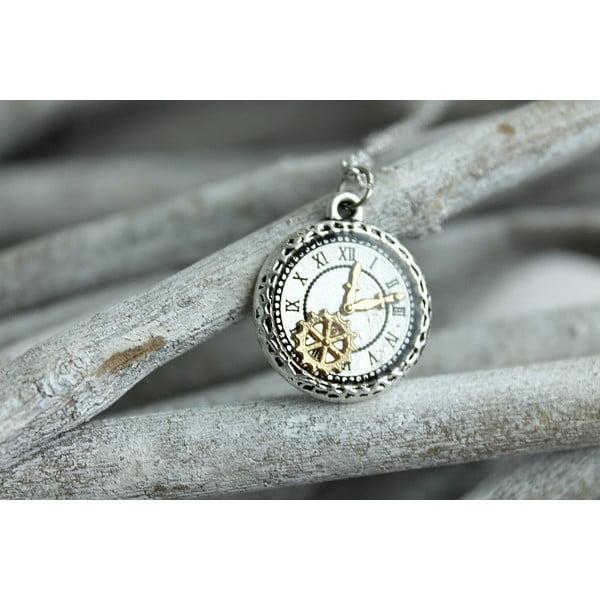 Náhrdelník Minimal Clock