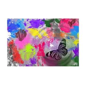Tablou Butterfly Drops, 45x70cm