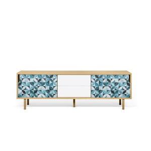 TV stolek v dekoru dubu TemaHome Dann Morocco