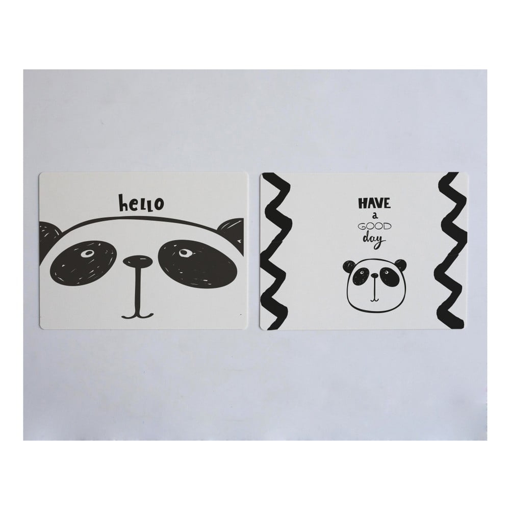 Sada 2 prostírání Little Nice Things Panda
