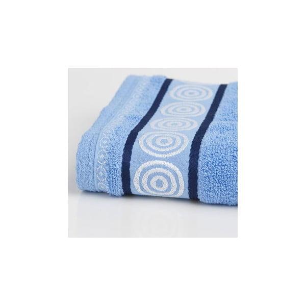 Ručník Fraza Rondo Blue, 70x140 cm