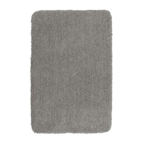 Světle šedá koupelnová předložka Wenko Mélange, 65x55cm