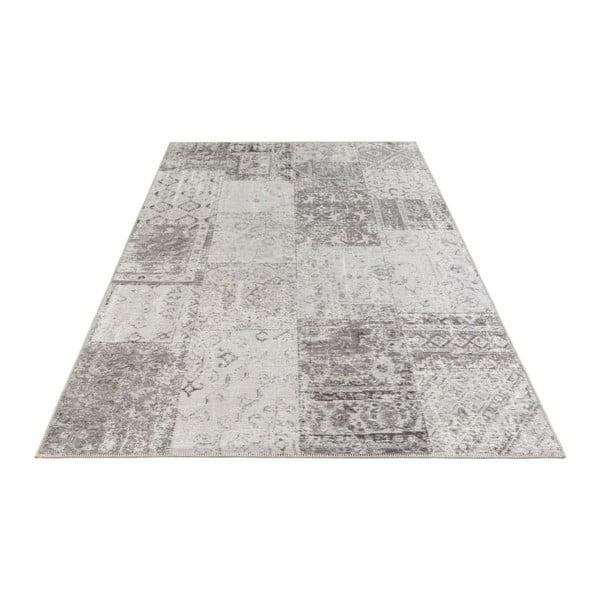 Šedo-krémový koberec Elle Decor Pleasure Denain, 80 x 150 cm