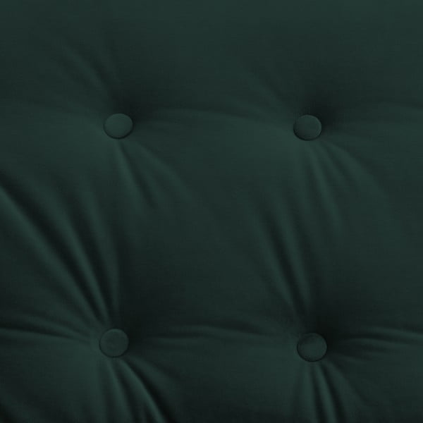 Zelené křeslo Vivonita Laurel Petrol