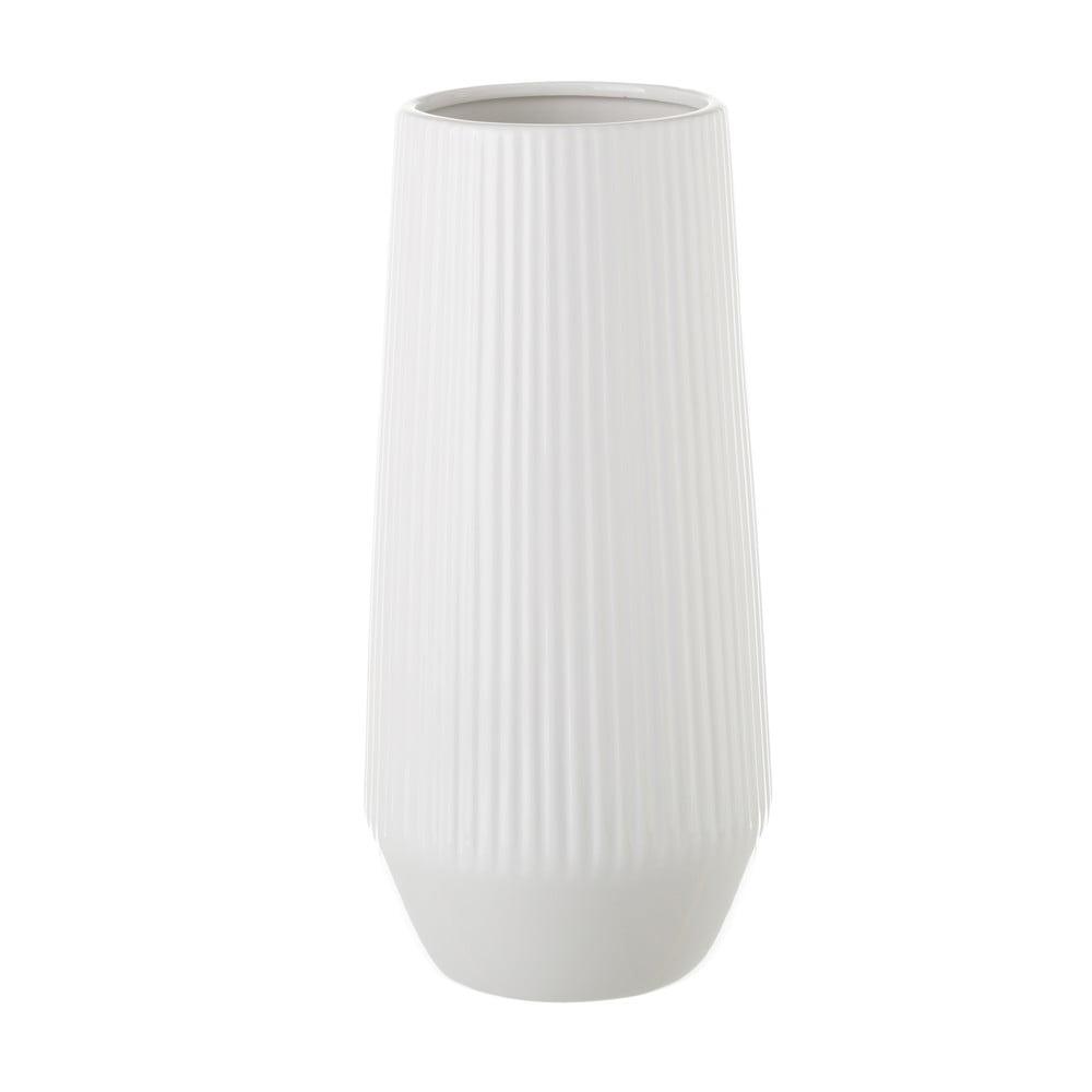 Bílá keramická váza Unimasa, 14,5 x 30 cm Unimasa
