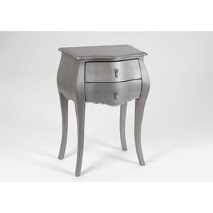 Odkládací stolek se dvěma zásuvkami Muran Argente