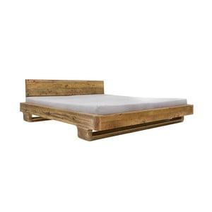 Dvoulůžková postel z borovicového dřeva Woodking June,180x200cm