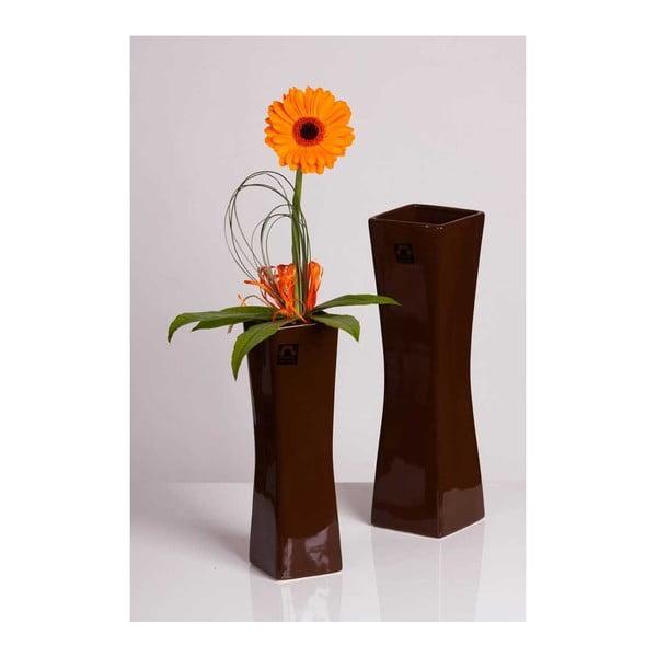 Váza Vienne Hnědá, malá