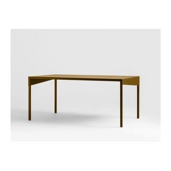 Masă de cafea metalică Custom Form Obroos, 100 x 60 cm, auriu de la Custom Form