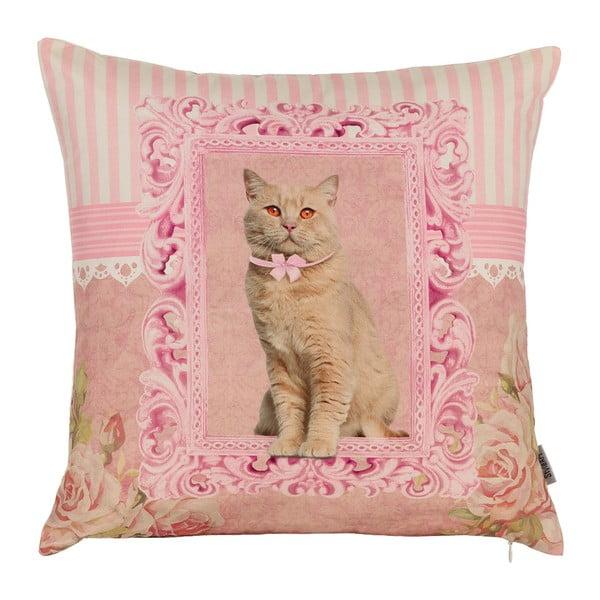 Povlak na polštář Apolena Princess Cat, 43 x 43 cm