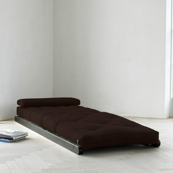 Lenoška Karup Figo, Wenge/Brown, 70 cm