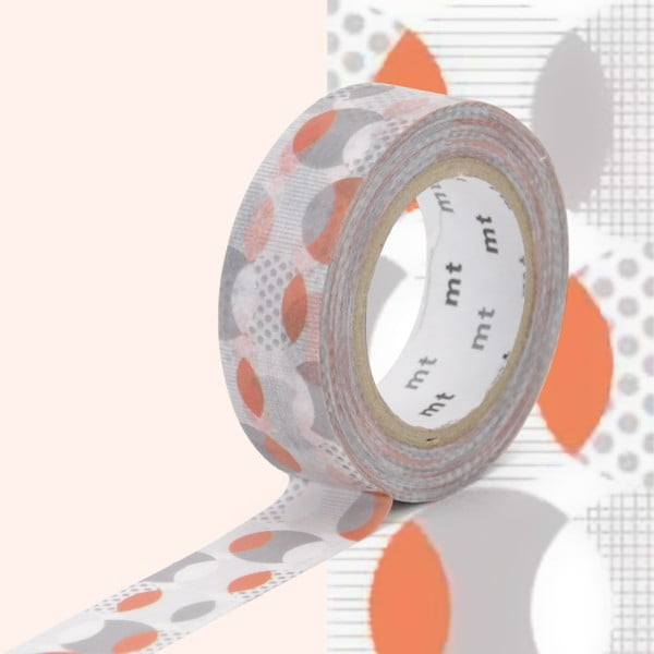 Bandă decorativă Washi MT Masking Tape Christelle, rolă 10 m