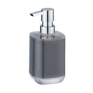 Šedý dávkovač na mýdlo Wenko Masone