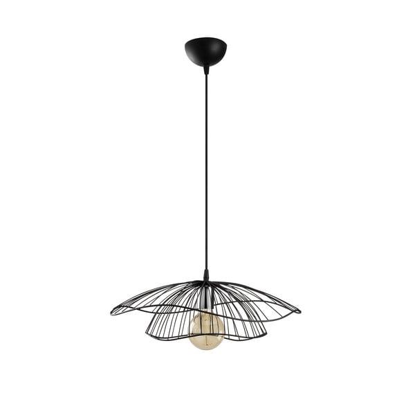 Czarna lampa wisząca Opviq lights Tel, ø 50 cm