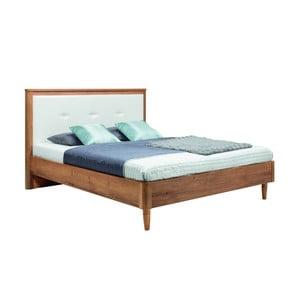 Bílá dvoulůžková postel Mazzini Beds Scandi, 180x200cm