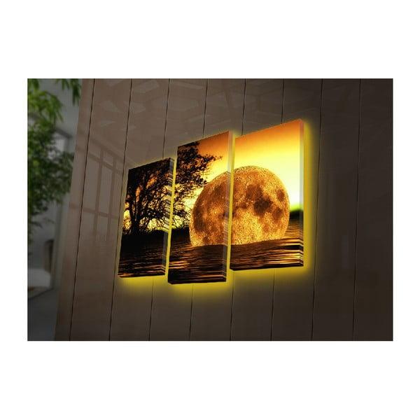 Podsvícený 3dílný obraz Adrasteia