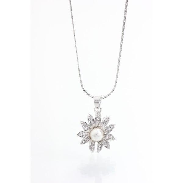 Naszyjnik z kryształami Swarovski Elements Laura Bruni Sunflower