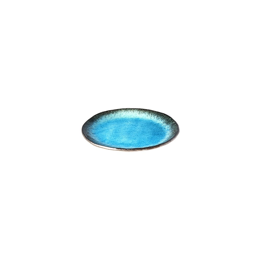 Modrý keramický talíř MIJ Sky, ø18cm