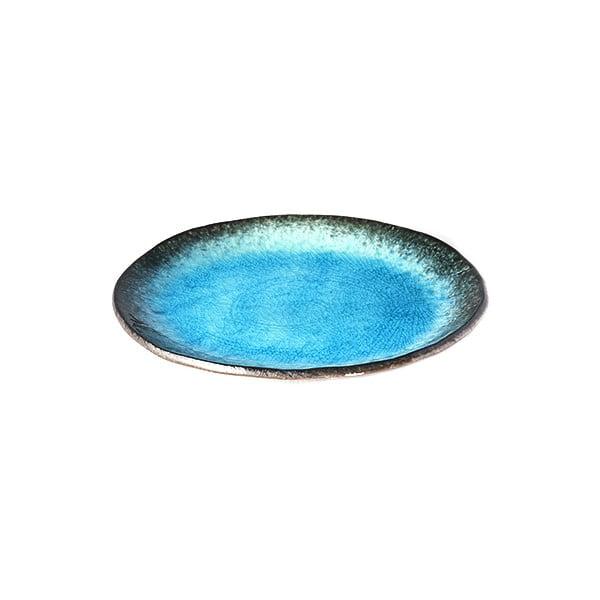Farfurie din ceramică MIJ Sky, ø18cm, albastru