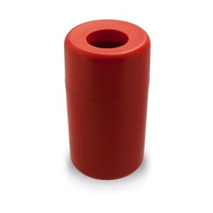 Červený odpadkový koš Qualy&CO Capsule