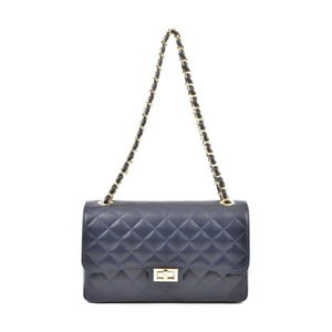 Modrá kožená kabelka Isabella Rhea Milady