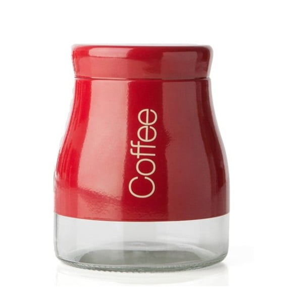 Červená dóza na kávu Sabichi Coffee, 700ml