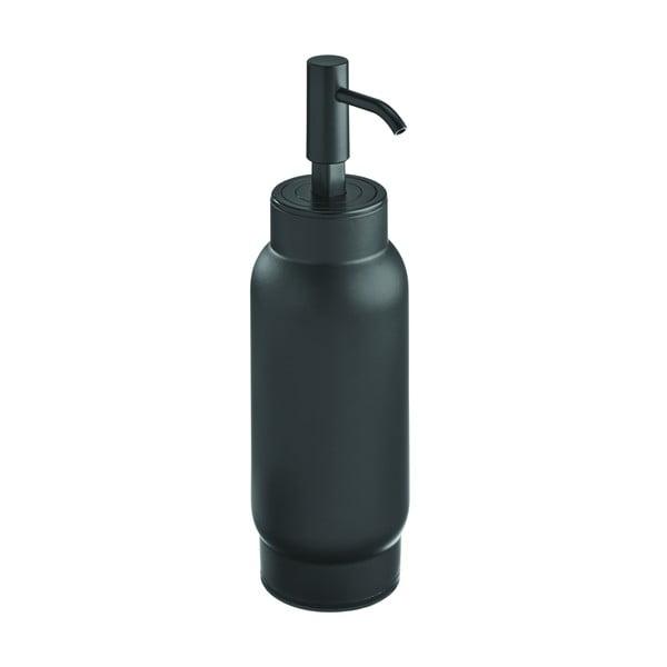 Czarny dozownik do mydła iDesign Austin, 700 ml