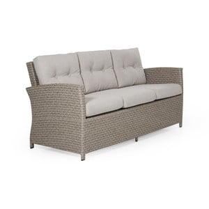Canapea cu 3 locuri pentru grădină Brafab Soho, bej