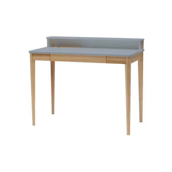 Tmavě šedý pracovní stůl Ragaba ASHME