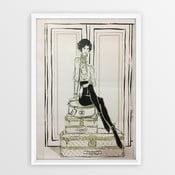 Plakát v rámu Piacenza Art Chanel Suitcases, 30x20cm