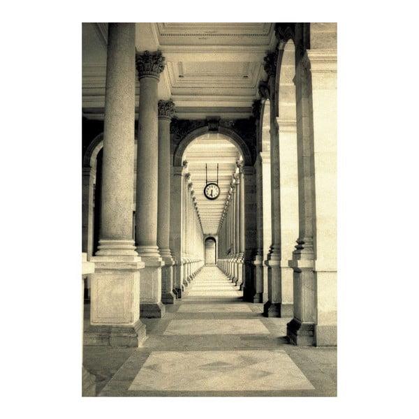 Velkoformátová tapeta Kolonáda v Římě, 158x232 cm