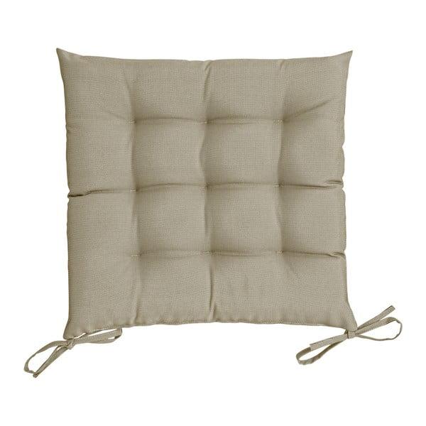 Brązowoszara poduszka na krzesło Blyco St. Maxime, 38x38 cm