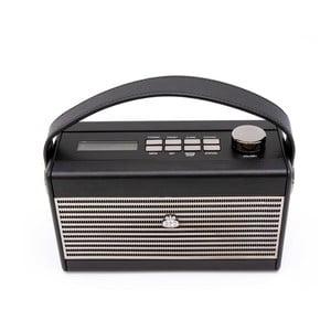 Černé rádio GPO Darcy Cream Wo294