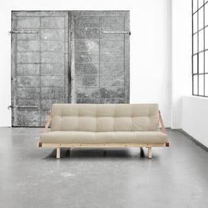 Canapea extensibilă Karup Jump Natural/Vision