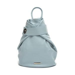35940882ca0 Modrý kožený batoh Anna Luchini Celeste