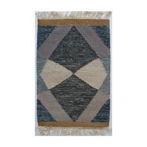 Ručně tkaný vlněný koberec Linie Design Osivert, 140x200cm