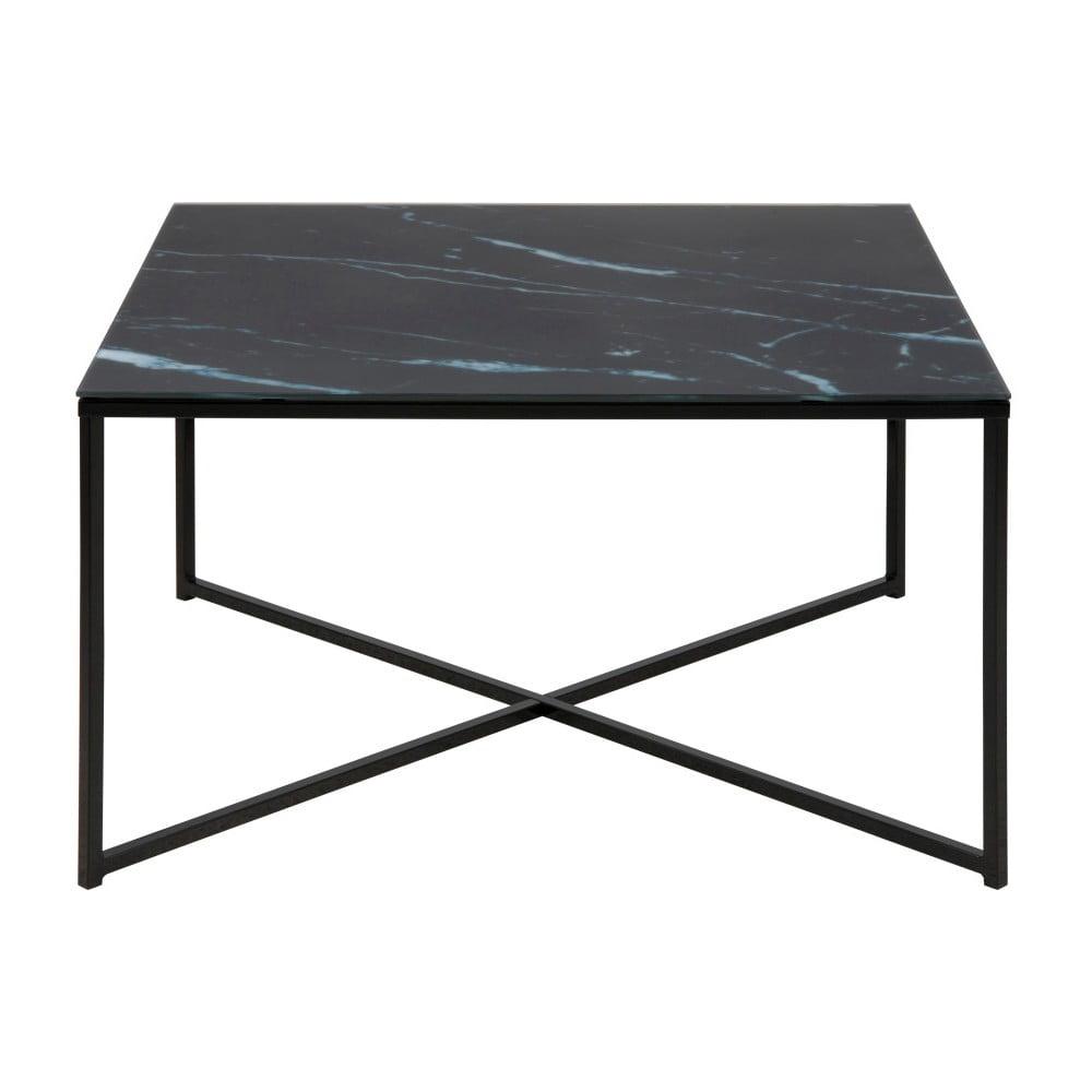 Tmavě šedých konferenční stolek Actona Alisma