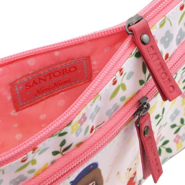 Pouzdro na tužky se zipy Santoro London Bon Voyage
