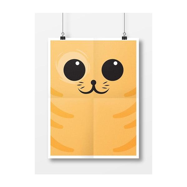 Plakát Kočka Zrzavá, A3