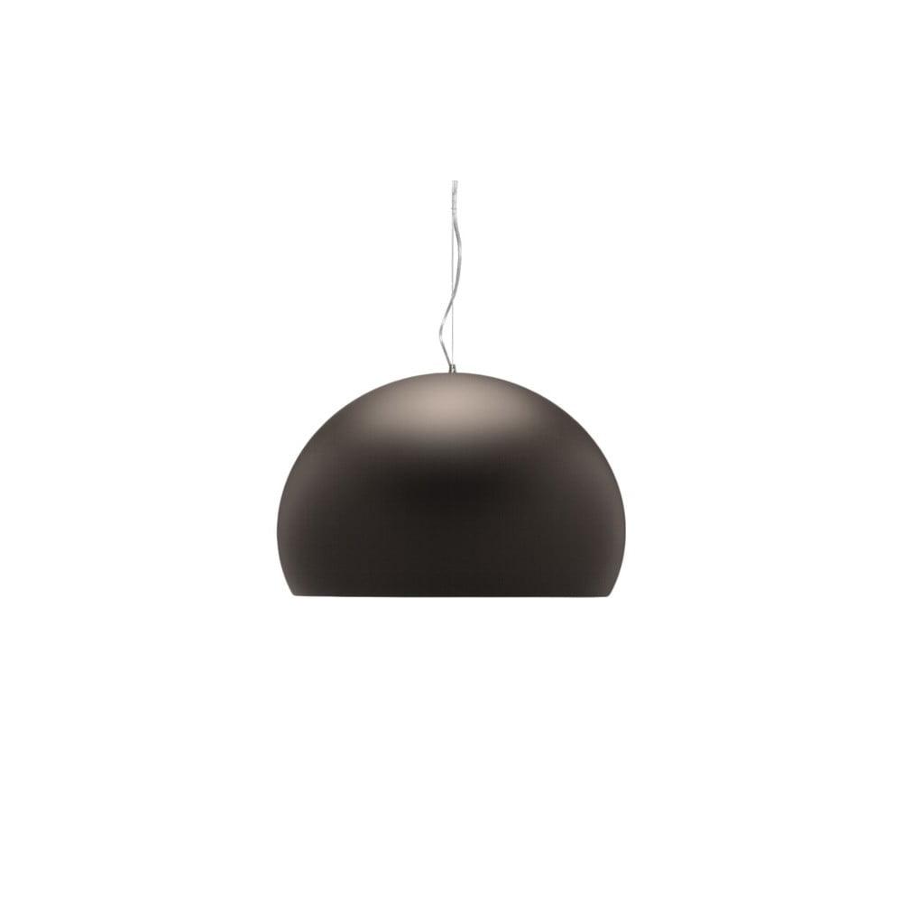 Hnědé stropní svítidlo Kartell Fly, ⌀ 52 cm