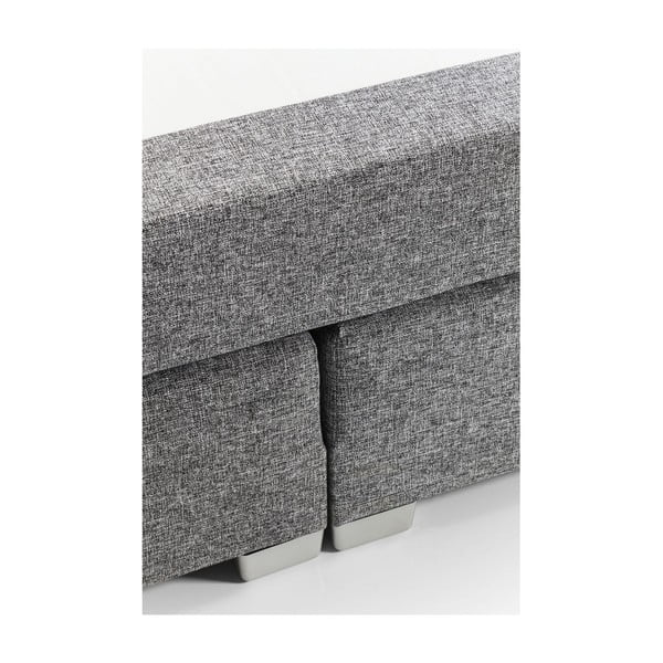 Šedá postel s matrací Bonell Kare Design 5Star Lux, 180x200cm