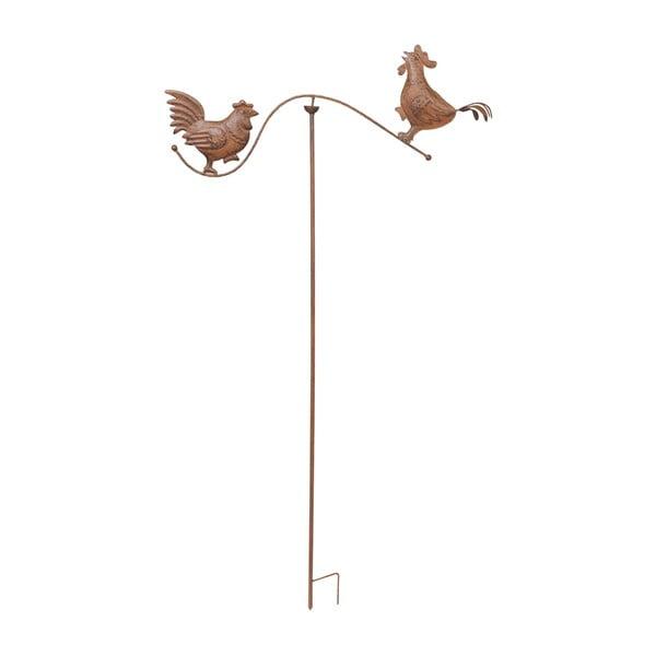 Zapichovací dekorace na zahradu Rooster, 139 cm