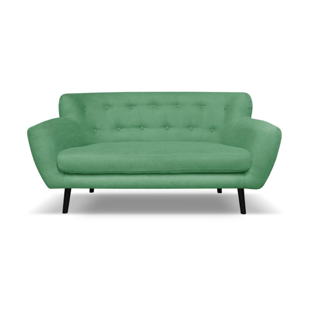 Zelená pohovka pro dva Cosmopolitan design Hampstead