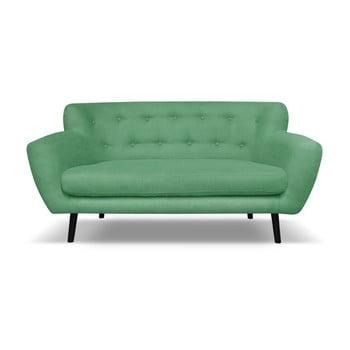 Canapea Cosmopolitan desing Hampstead, 162 cm, verde imagine